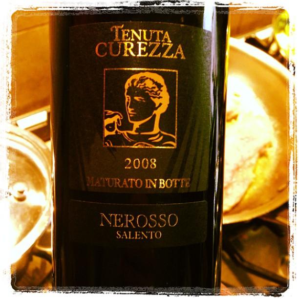 2008 Tenuta Curezza Nerosso Salento IGT