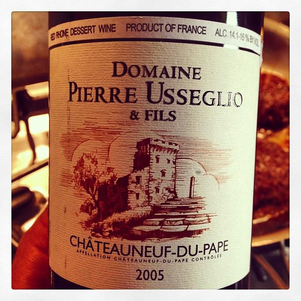 2005 Domaine Pierre Usseglio & Fils Châteauneuf-du-Pape
