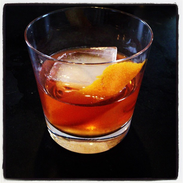 Old Fashioned with Willett Single Barrel Rye