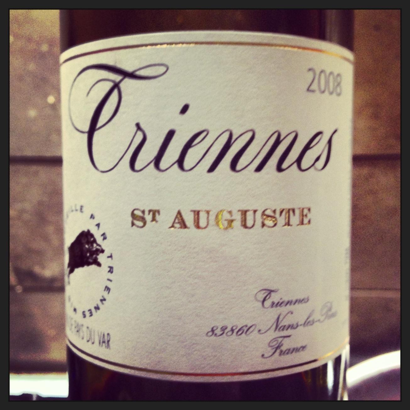 2008 Domaine de Triennes Vin de Pays du Var St Auguste