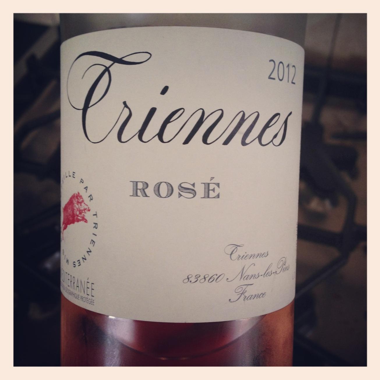 2012 Domaine de Triennes Vin de Pays du Var Rosé