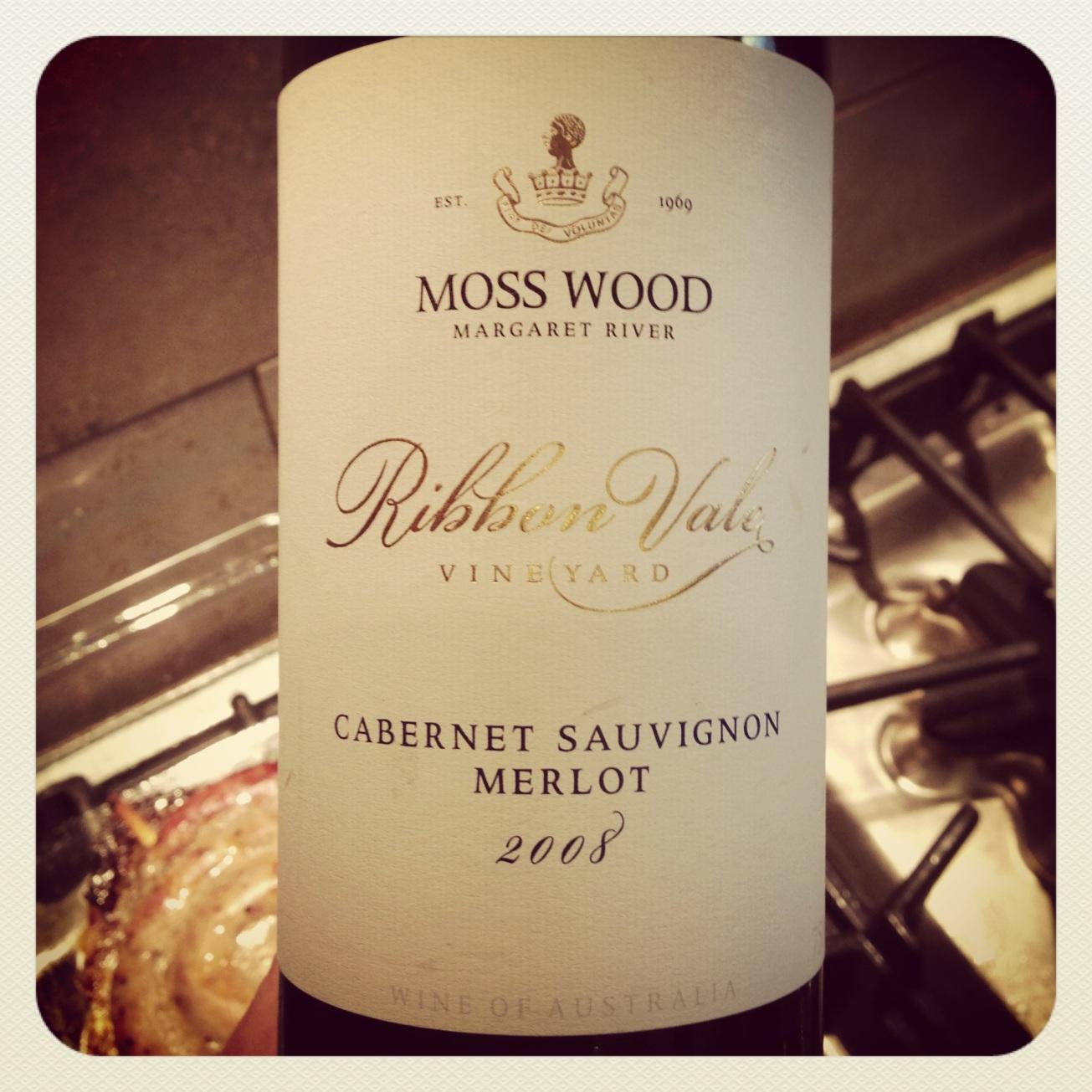 2008 Moss Wood Cabernet-Merlot Ribbon Vale