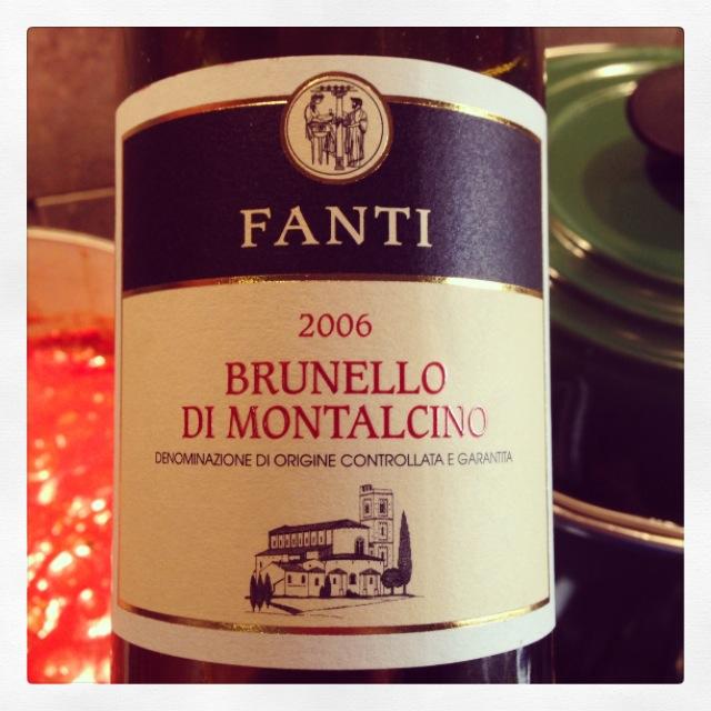 2006 Fanti (Tenuta San Filippo) Brunello di Montalcino