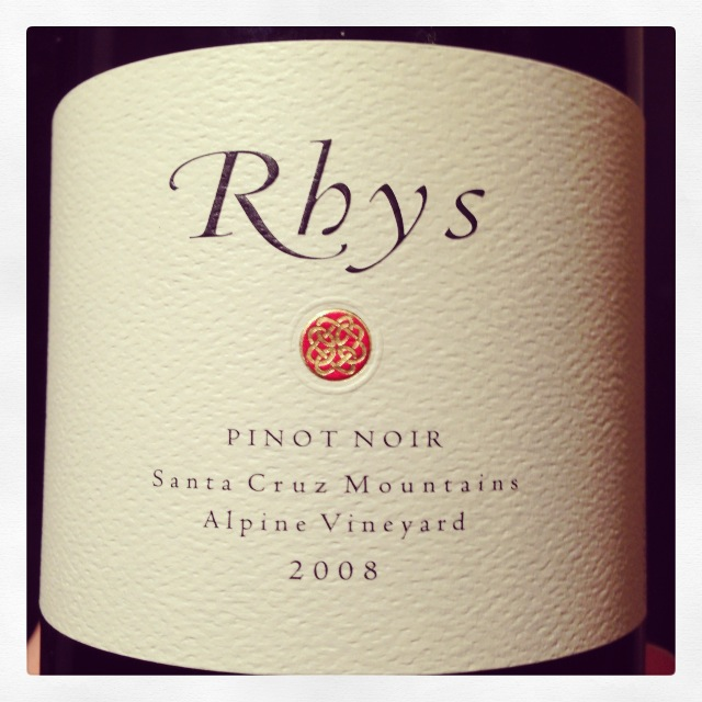 2008 Rhys Pinot Noir Alpine Vineyard