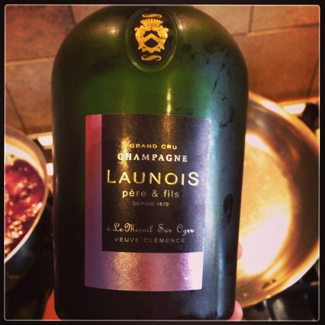 Launois Pere et Fils Champagne Grand Cru Veuve Clemence Brut Blanc de Blancs