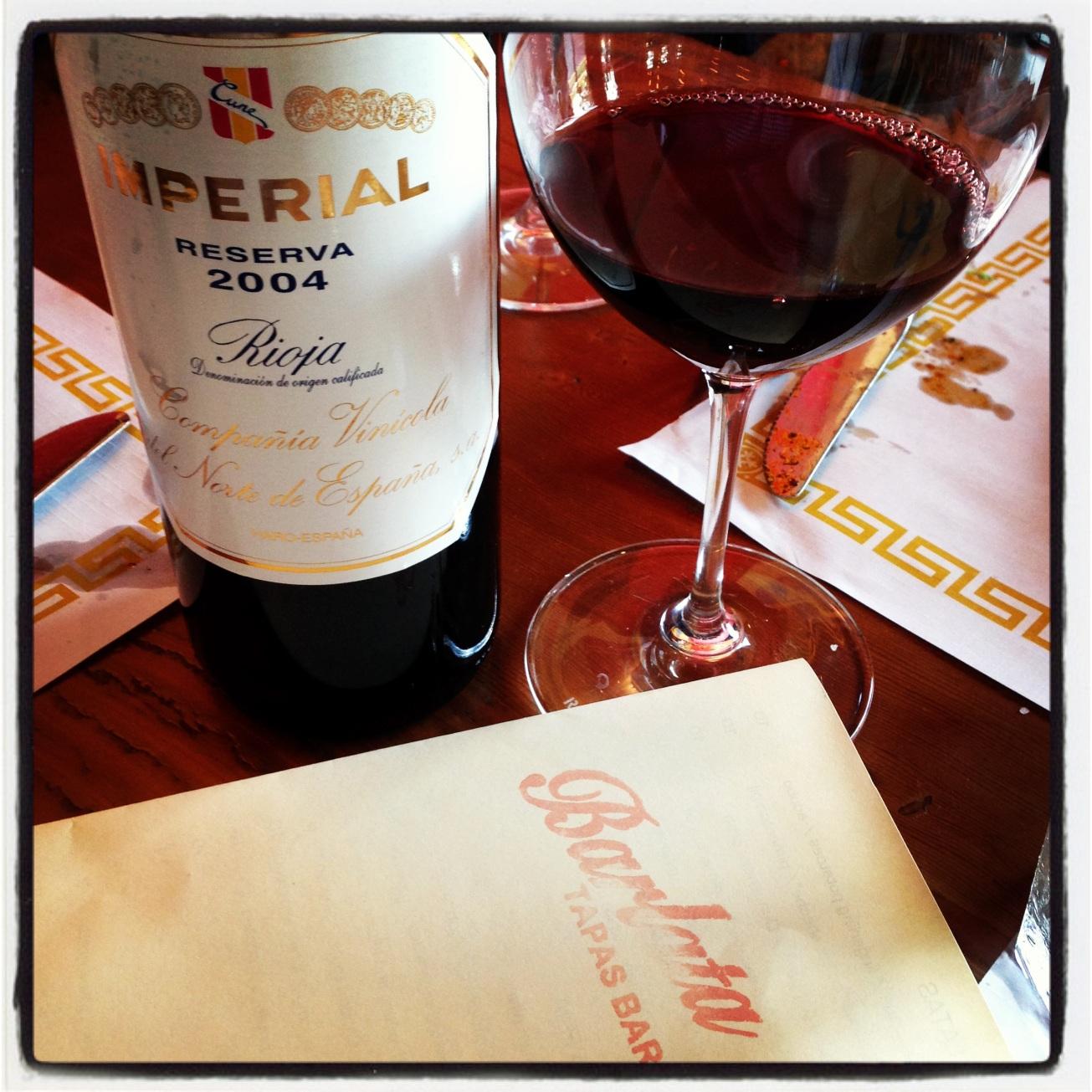 2004 C.V.N.E. (Compañía Vinícola del Norte de España) Rioja Imperial Reserva