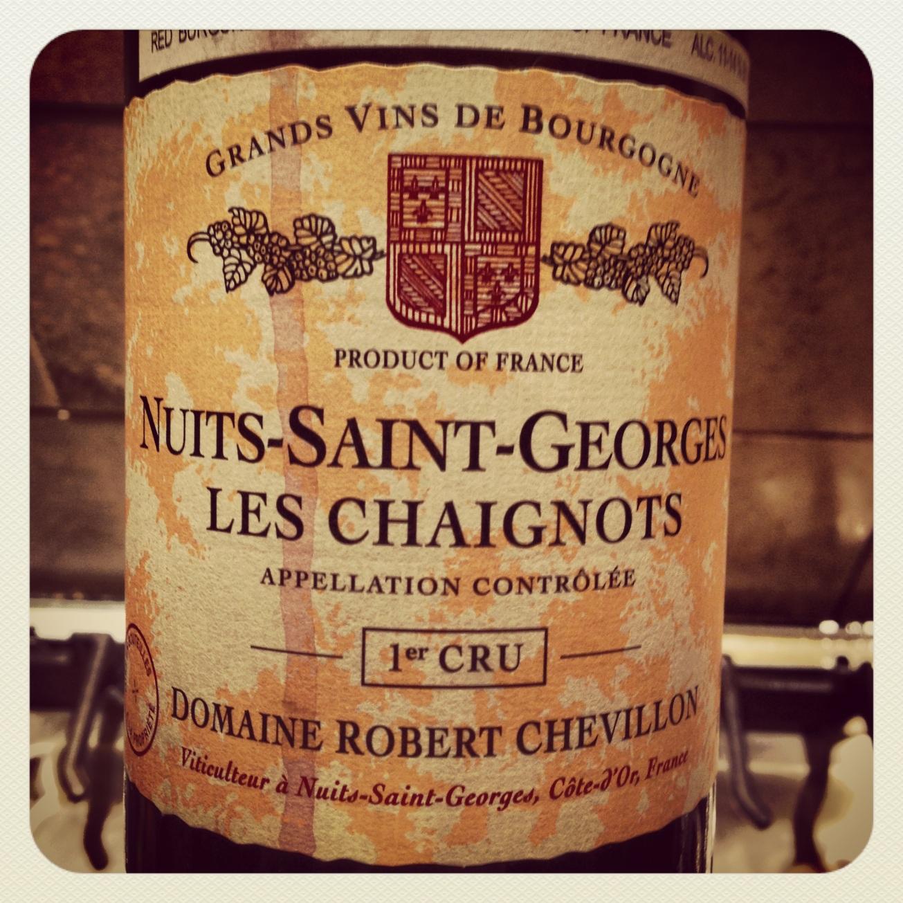 2006 Domaine Robert Chevillon Nuits St. Georges 1er Cru Les Chaignots