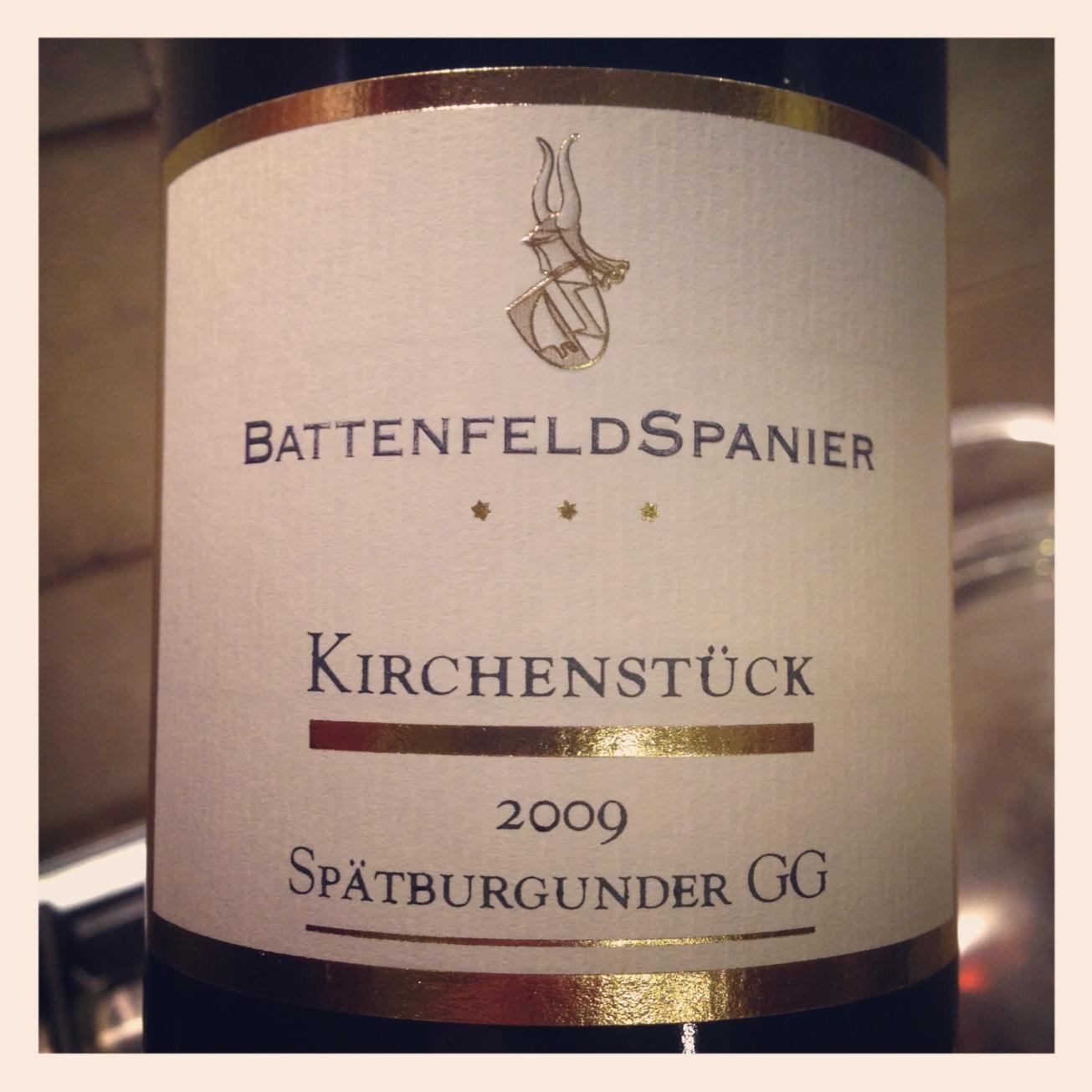 2009 Weingut Battenfeld-Spanier Kirchenstück Spätburgunder GG