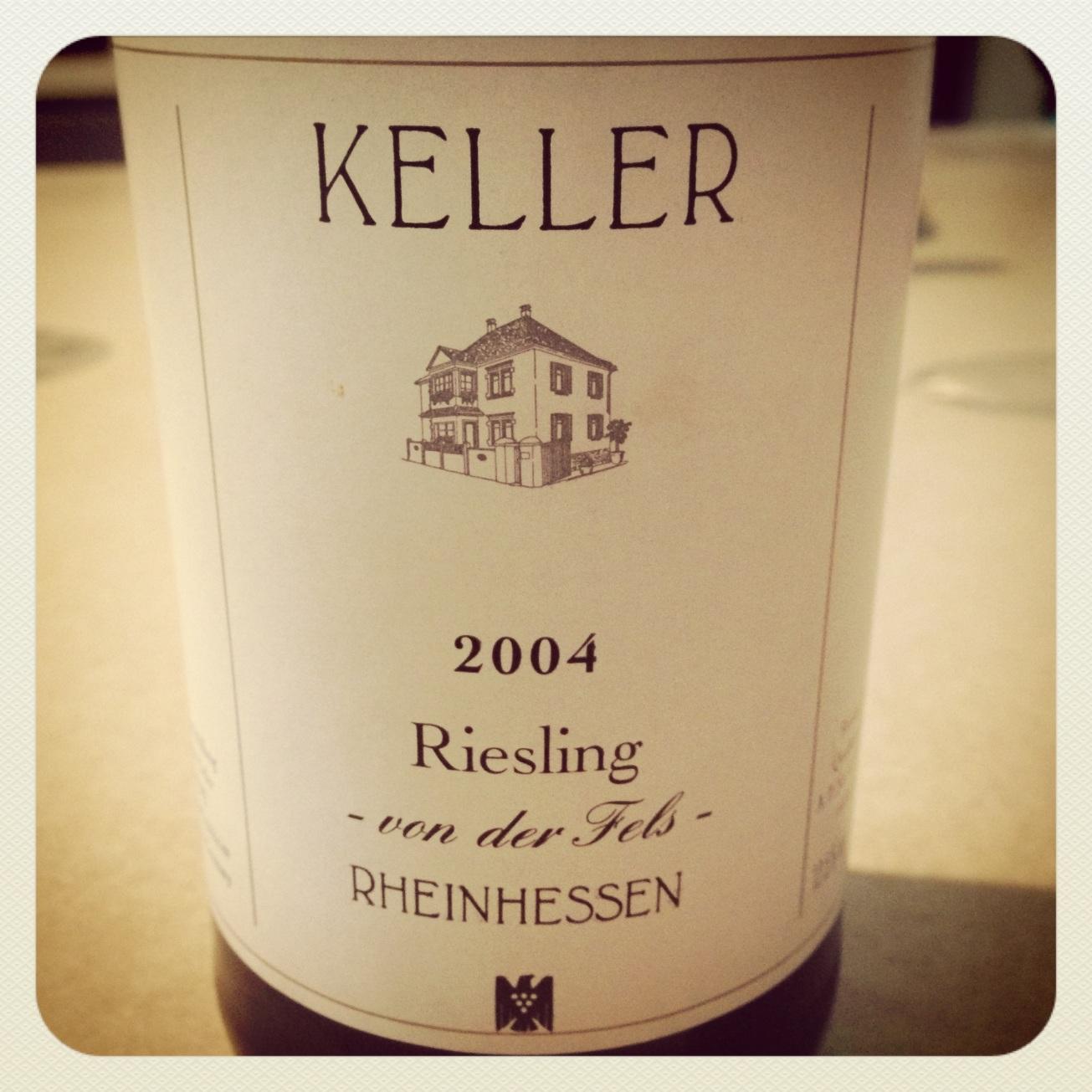 2004 Weingut Keller Riesling von der Fels