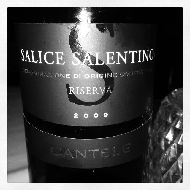 2009 Cantele Salice Salentino Riserva