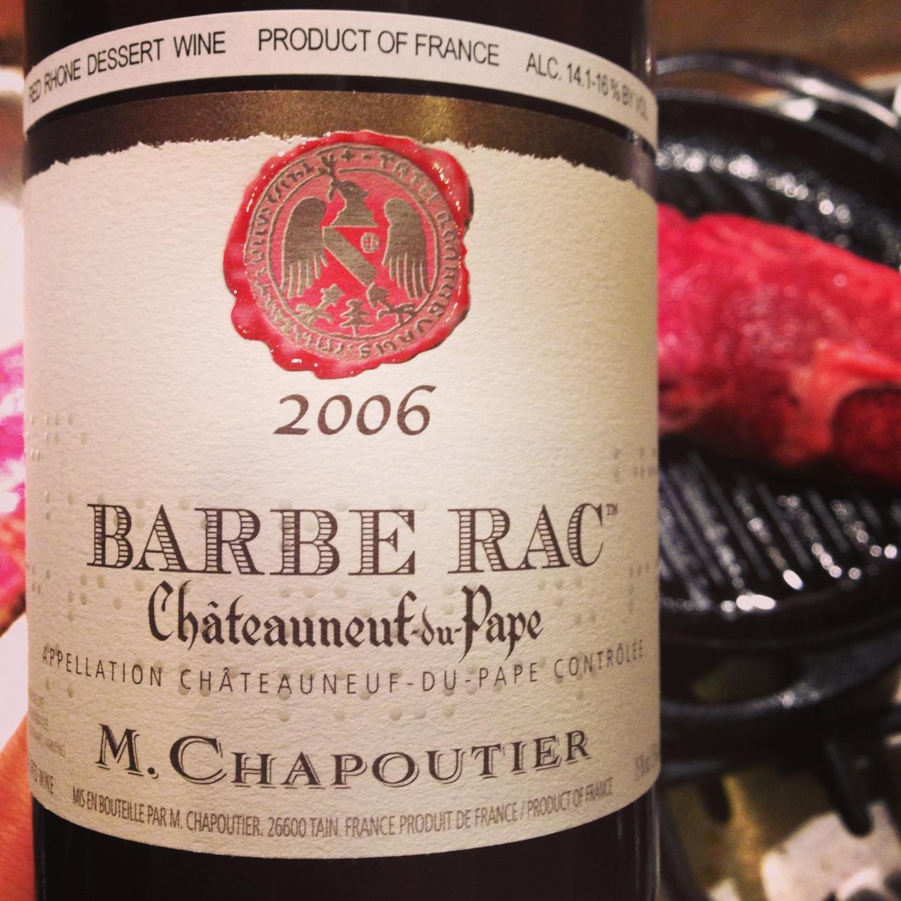 2006 M. Chapoutier Châteauneuf-du-Pape Barbe Rac