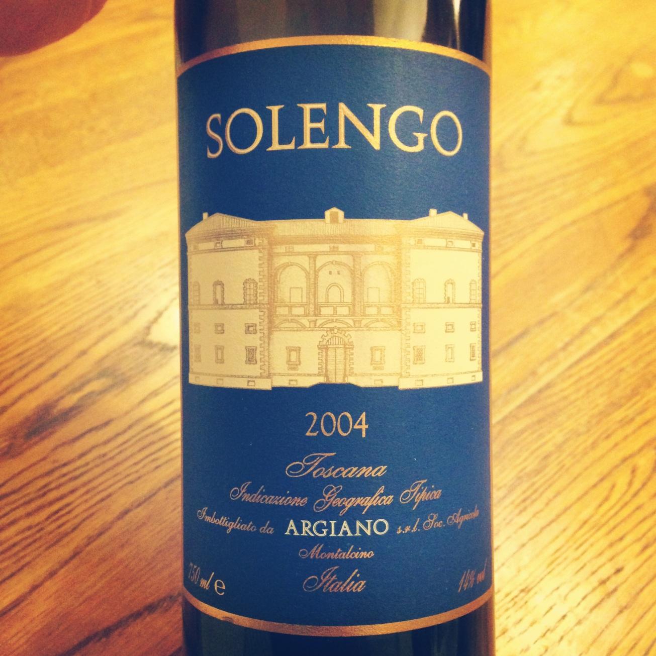 2004 Argiano Solengo Toscana IGT