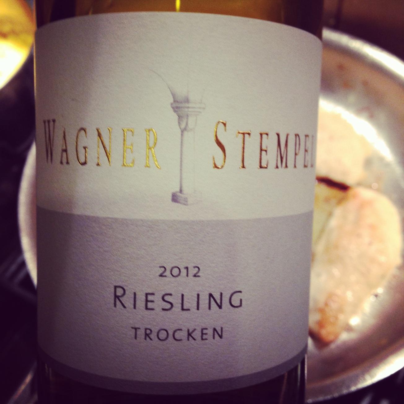 2012 Wagner Stempel Riesling Trocken