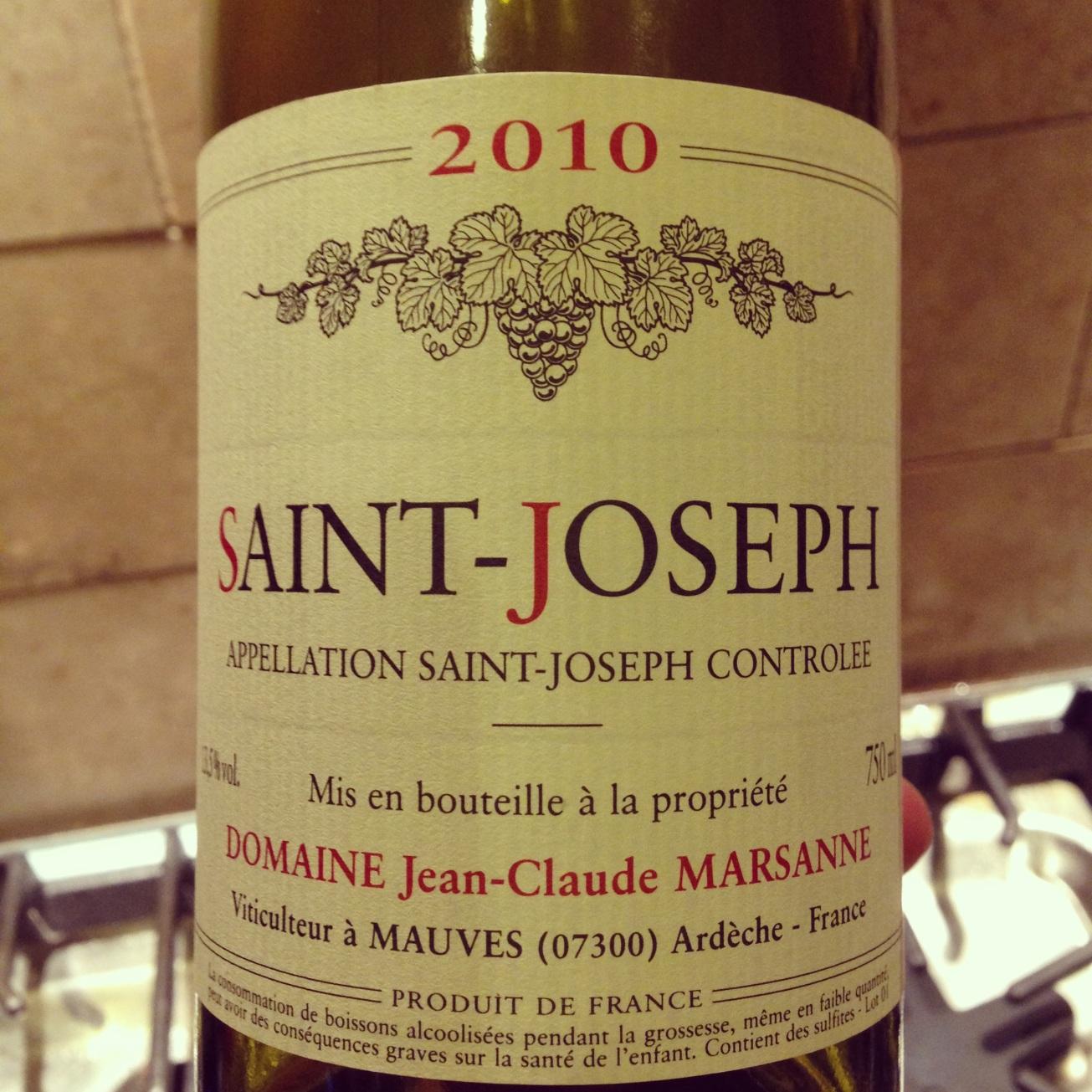 2010 Domaine Jean-Claude Marsanne St. Joseph