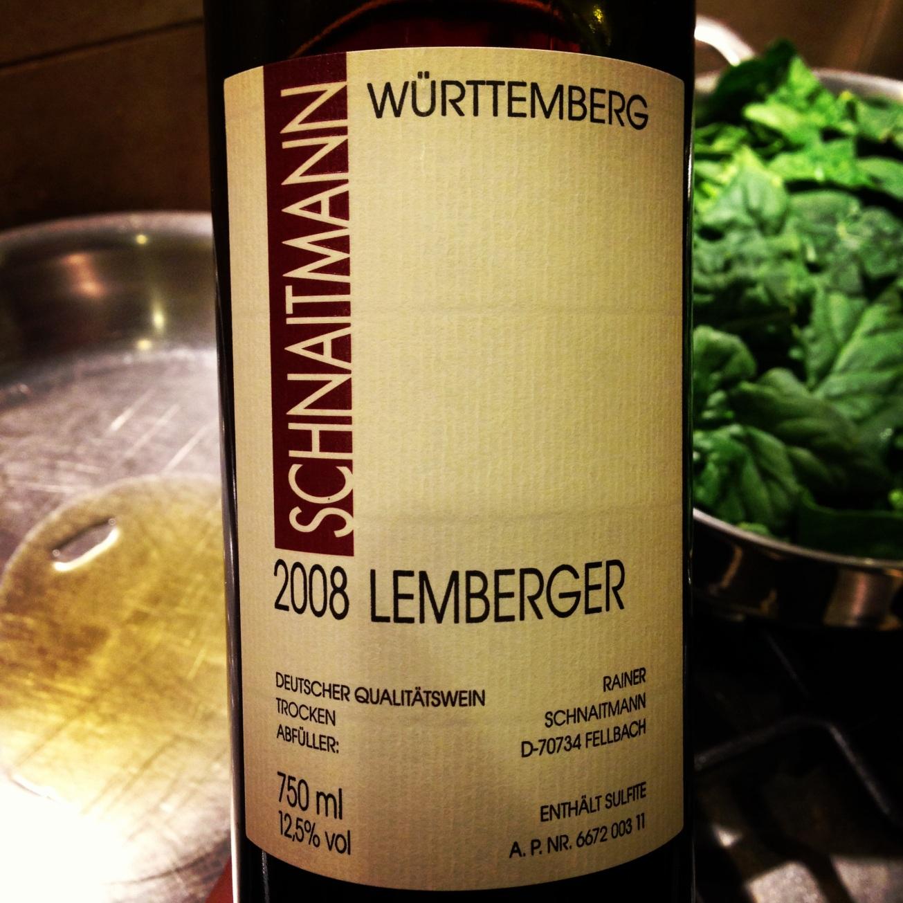 2008 Weingut Schnaitmann Lemberger ** trocken
