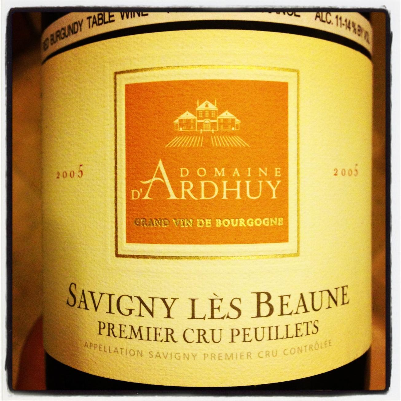 2005 Domaine d'Ardhuy Savigny les Beaune 1er Cru Les Peuillets