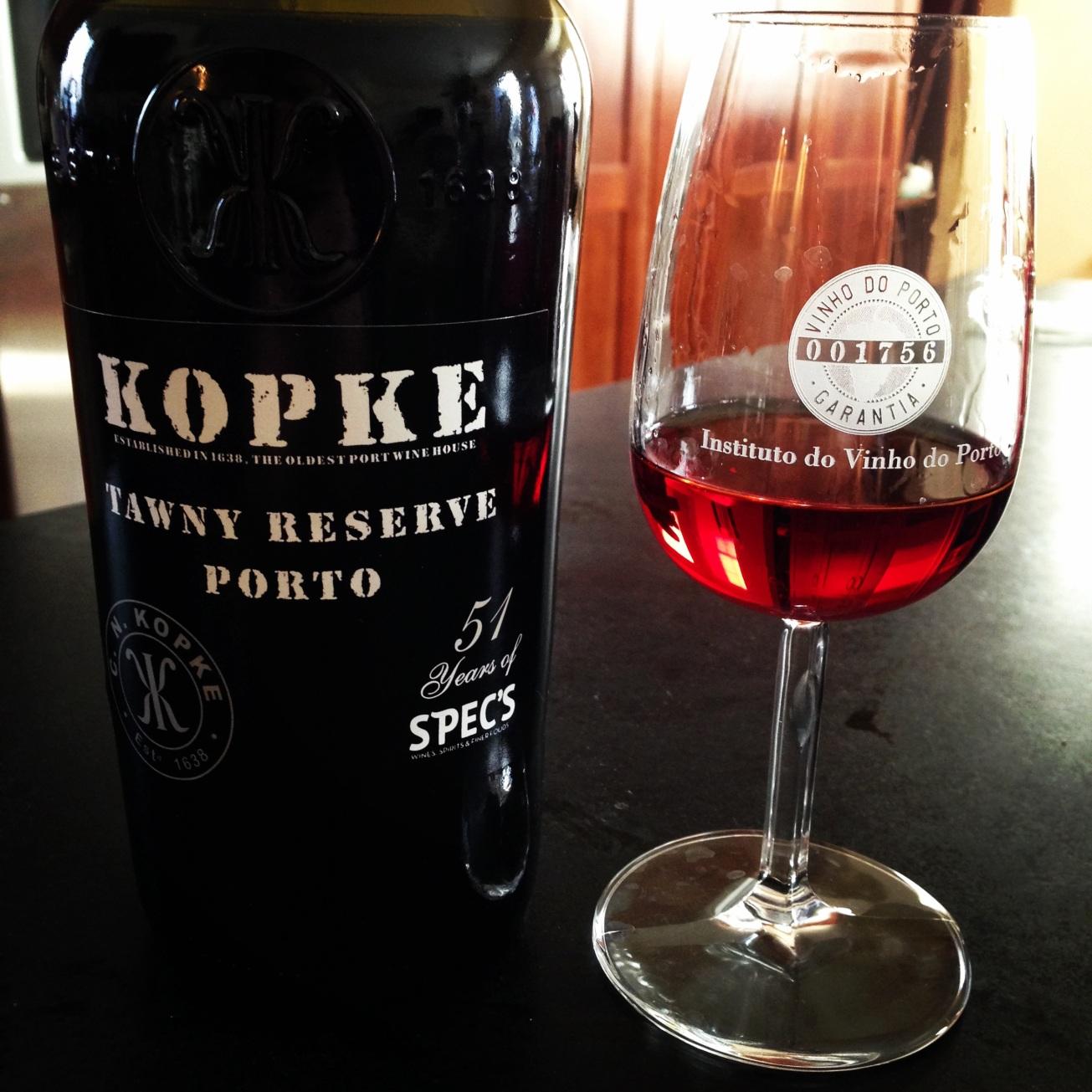 NV Kopke Porto Tawny Reserve - 51 Years of Spec's
