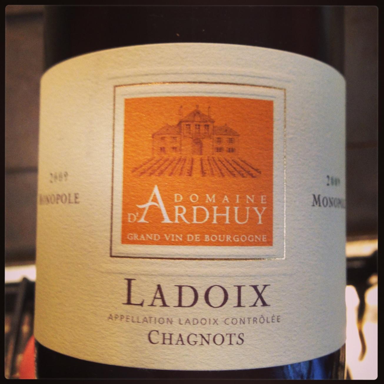 2009 d'Ardhuy Ladoix