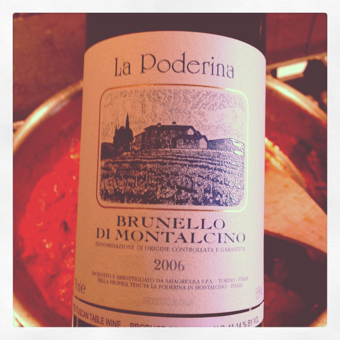 2006 La Poderina Brunello di Montalcino