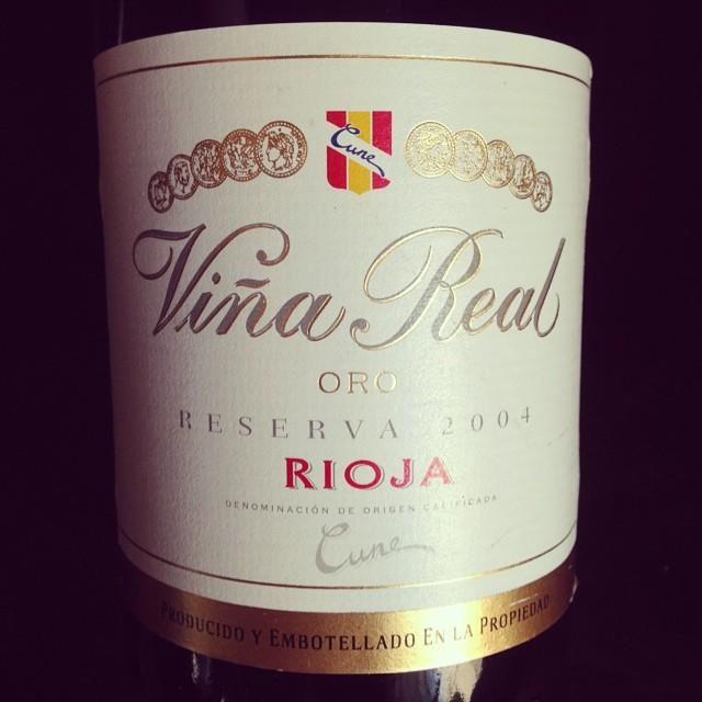 2004 CVNE Rioja Vina Real Reserva