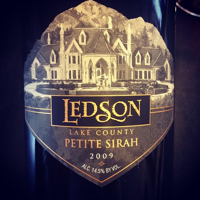 2009 Ledson Petite Syrah