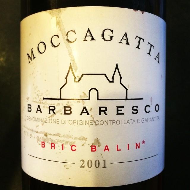 2001 Moccagatta Barbaresco Bric Balin