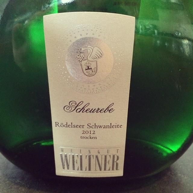 2012 Weltner Rödelseer Schwanleite Scheurebe Trocken