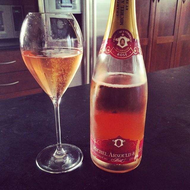 N.V. Michel Arnould & Fils Champagne Grand Cru Brut Rosé