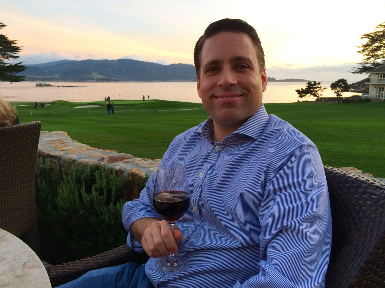 Pelz on Wine at Pebble Beach