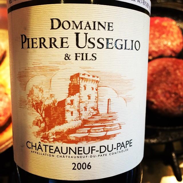 2006 Domaine Pierre Usseglio & Fils Châteauneuf-du-Pape