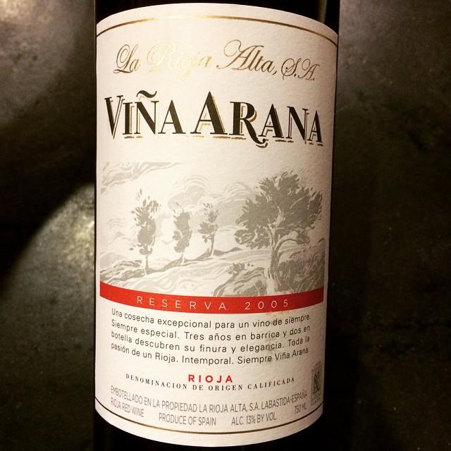2005 La Rioja Alta Rioja Viña Arana Reserva