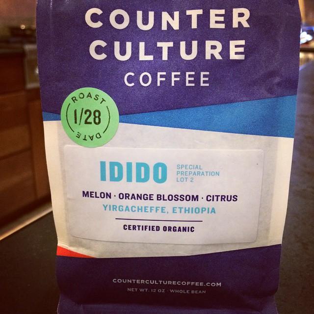 Counter Culture Coffee Idido Yirgacheffe Ethiopia