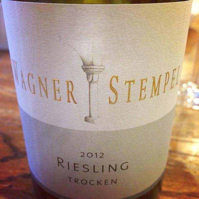 2012 Wagner-Stempel Riesling trocken