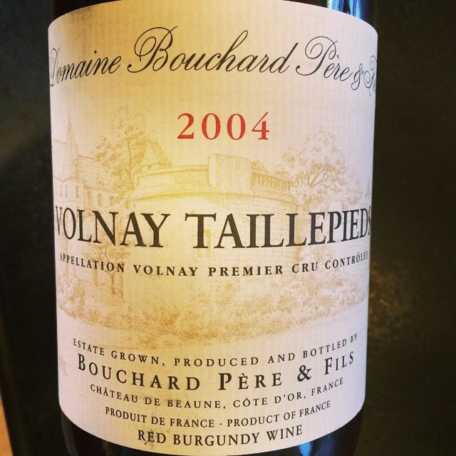 2004 Bouchard Père et Fils Volnay 1er Cru Taillepieds