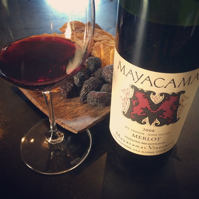 2008 Mayacamas Vineyards Merlot