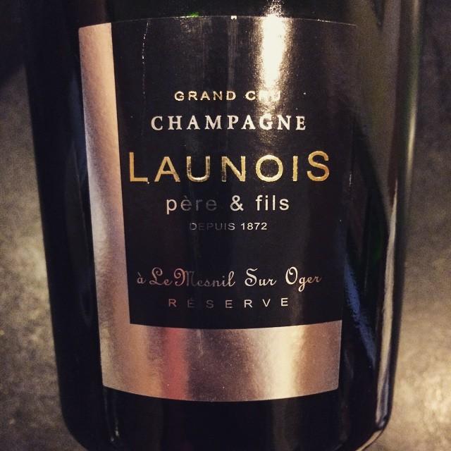 N.V. Launois Pere et Fils Champagne Grand Cru Cuvée Reserve Blanc de Blancs Brut