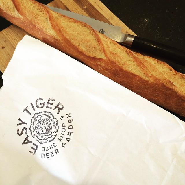 Easy Tiger baguette