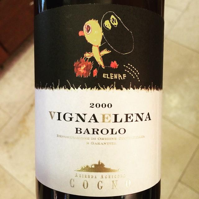 2000 Azienda Agricola Elvio Cogno Barolo Vigna Elena
