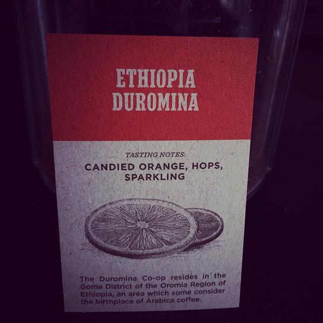 Stumptown Ethiopia Duromina