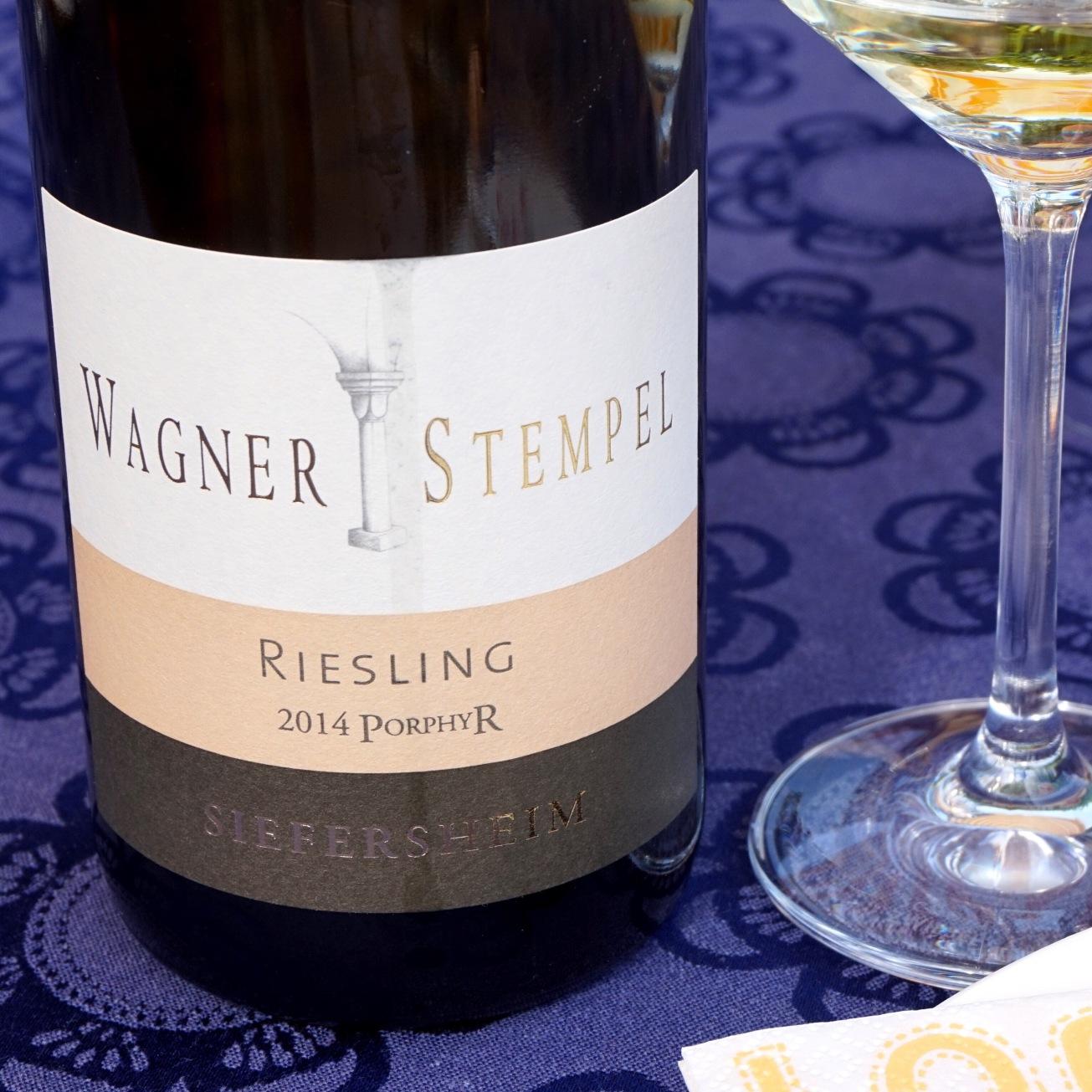 2013 Wagner-Stempel Siefersheimer Riesling Vom Porphyr Trocken