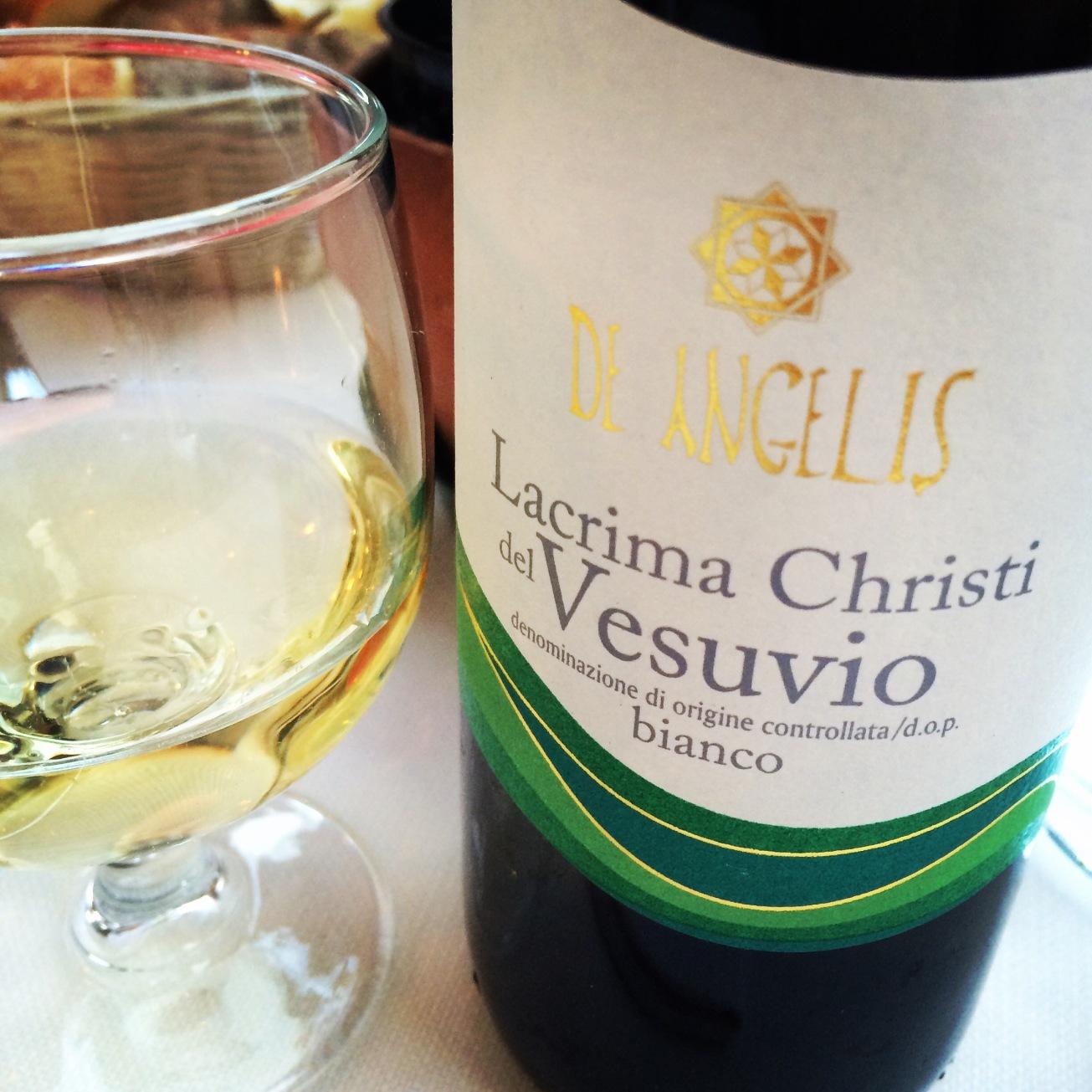 2013 De Angelis Lacryma Christi del Vesuvio