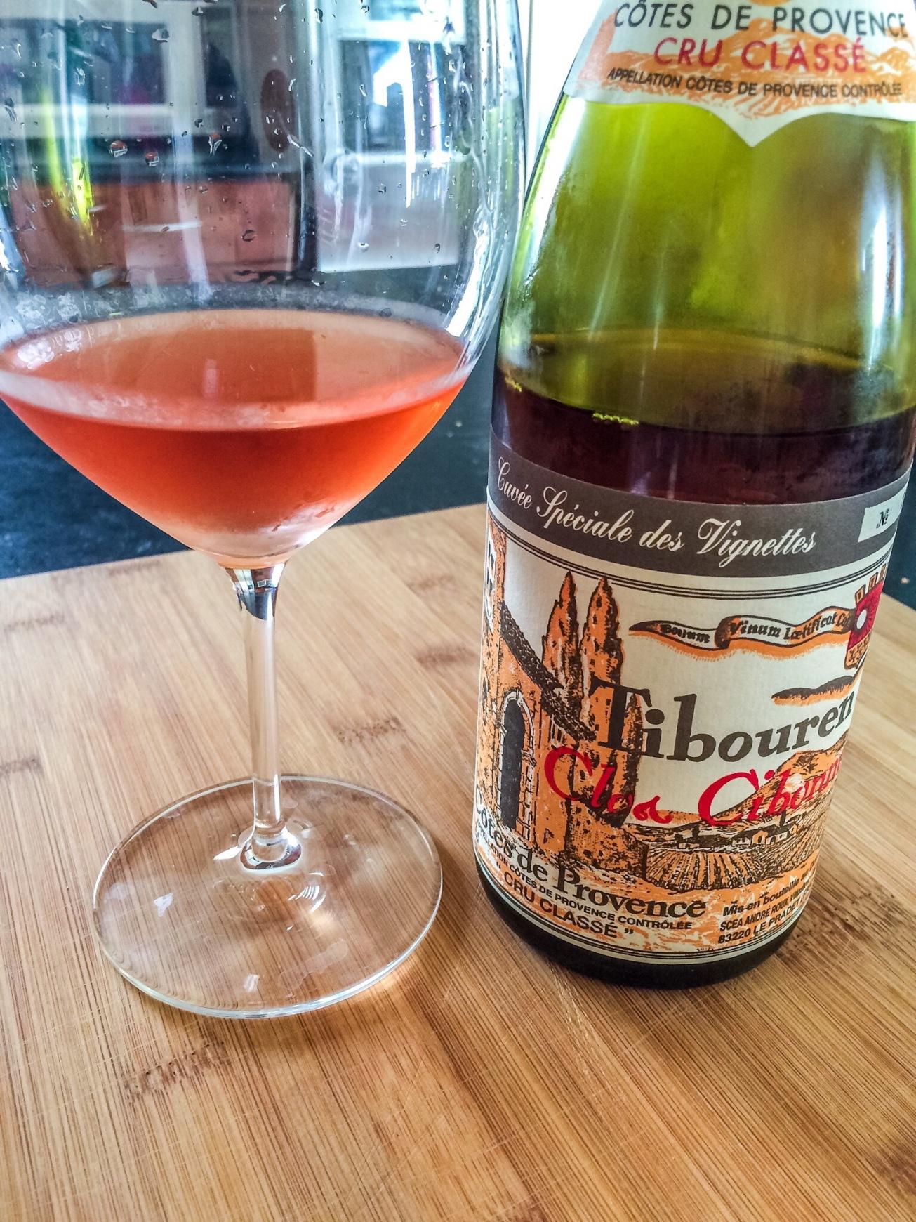 2012 Clos Cibonne Tibouren Côtes de Provence Rosé Cuvée Spéciale des Vignettes