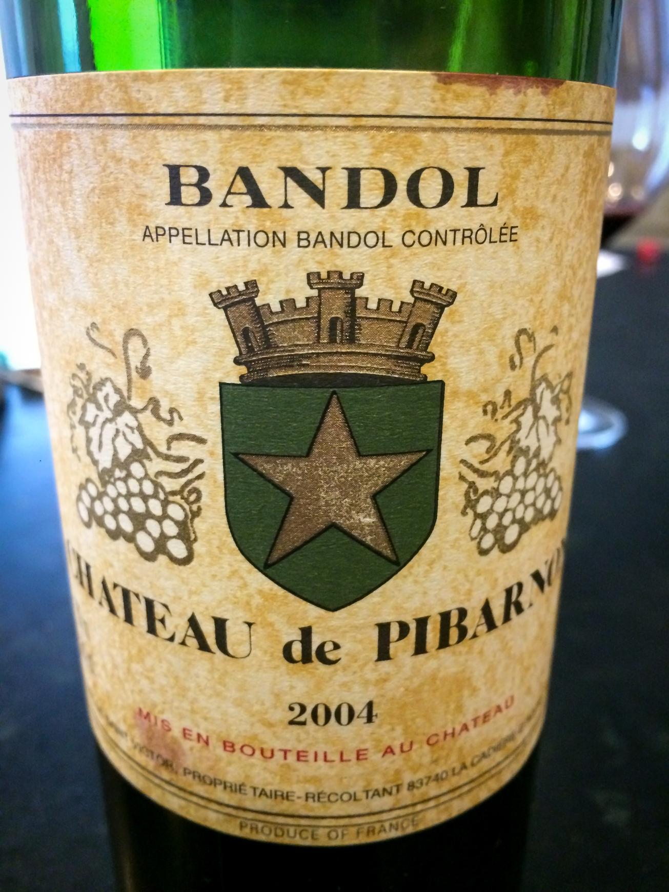 2004 Château de Pibarnon Bandol