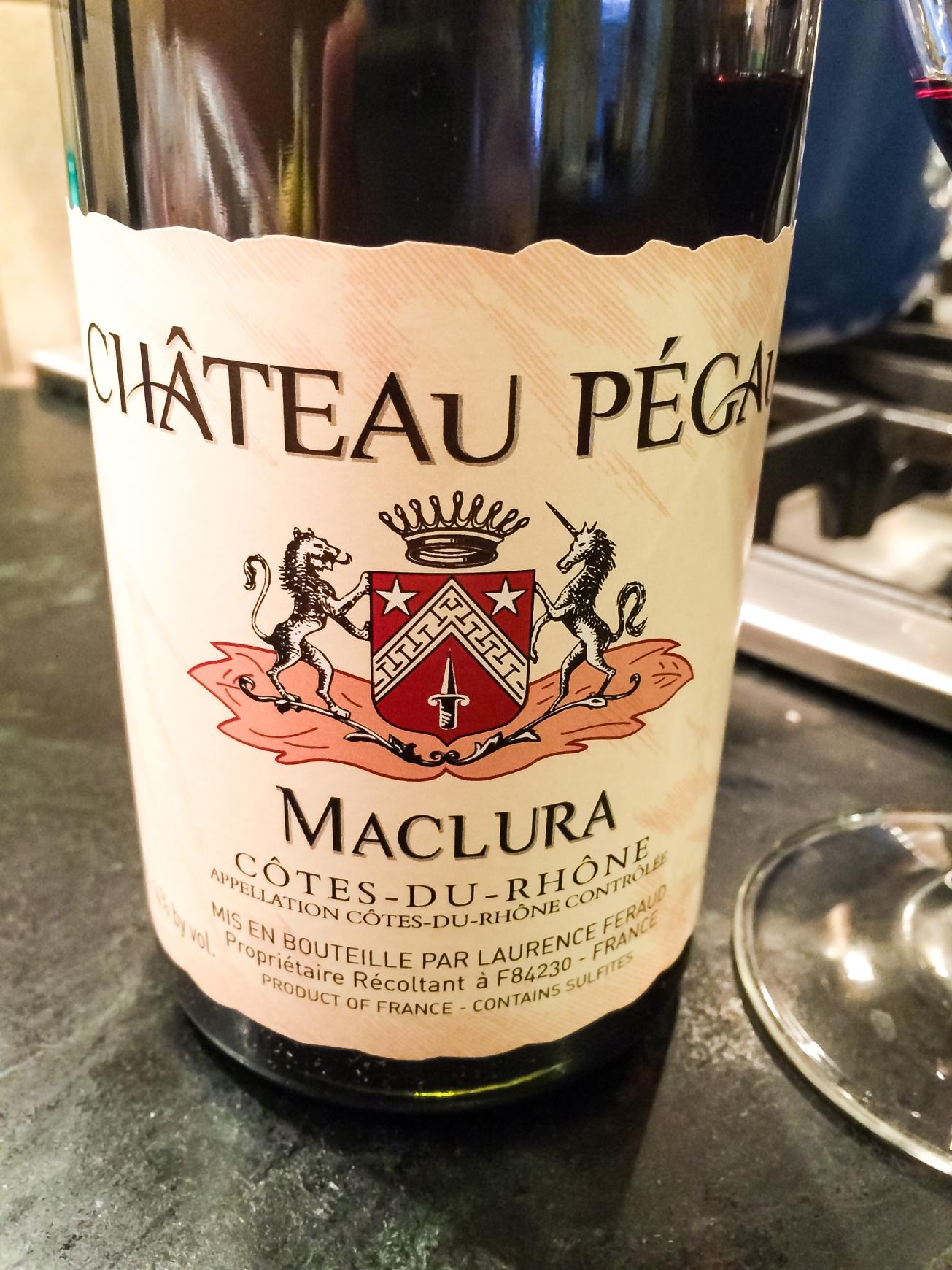 2012 Château Pegaü Côtes du Rhône Cuvée Maclura
