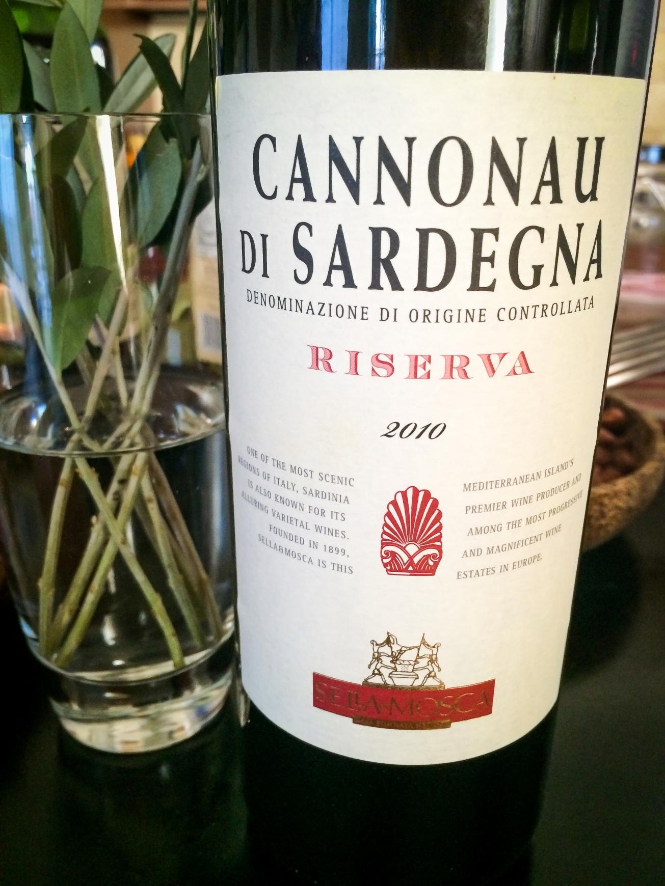 2010 Sella & Mosca Cannonau di Sardegna Riserva