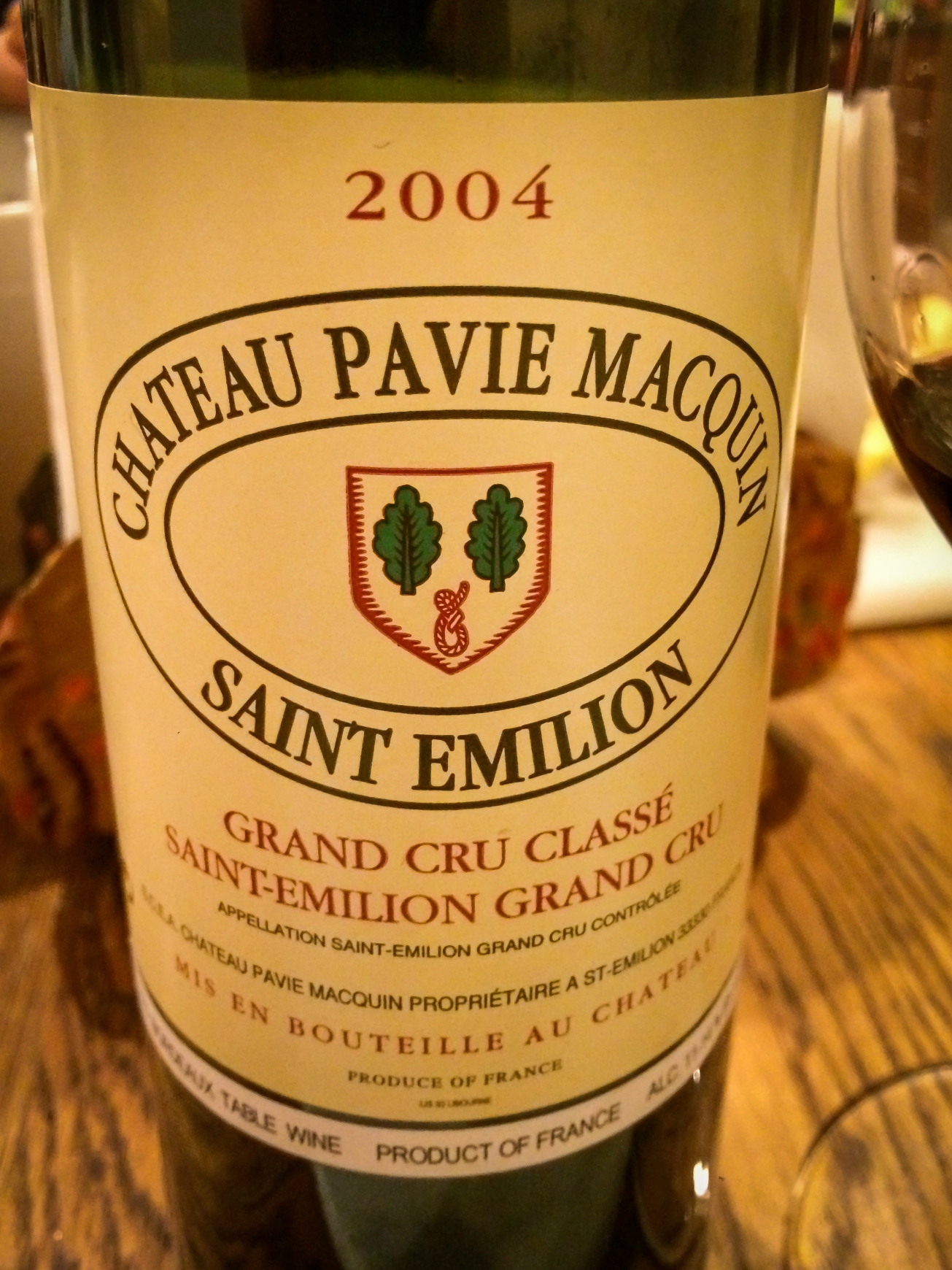 2004 Château Pavie Macquin