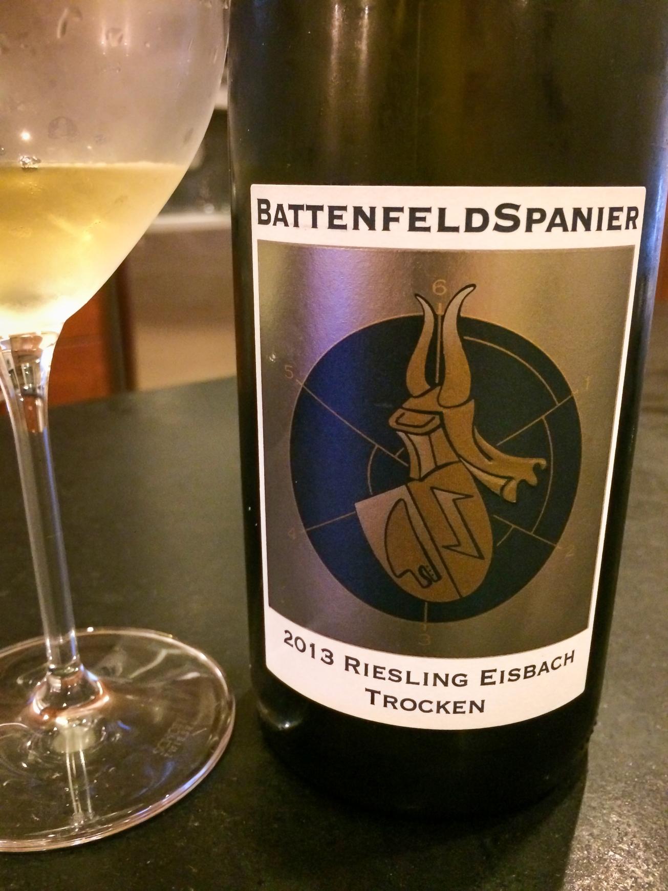 2013 Weingut Battenfeld-Spanier Eisbach Riesling