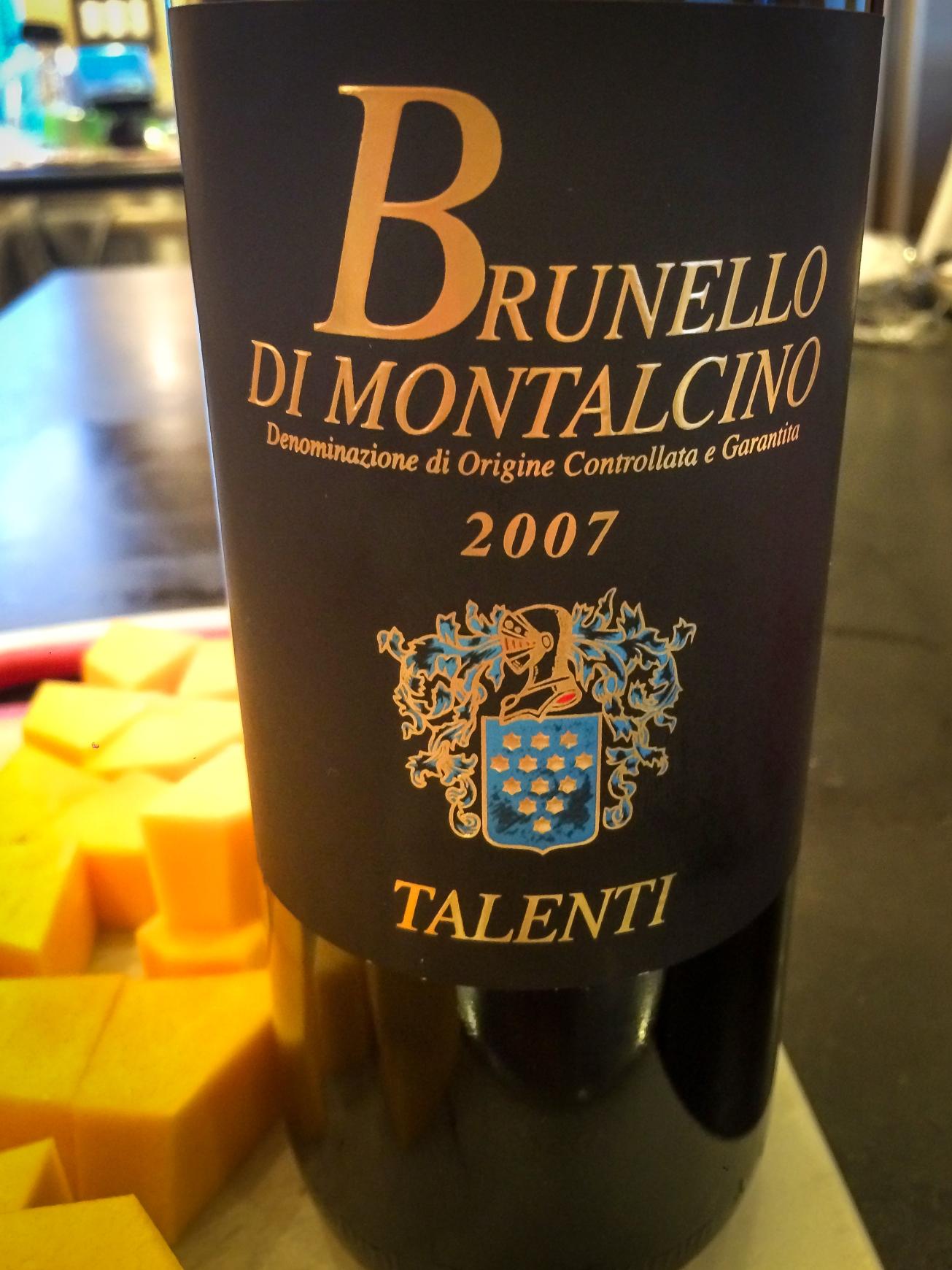 2007 Talenti Brunello di Montalcino