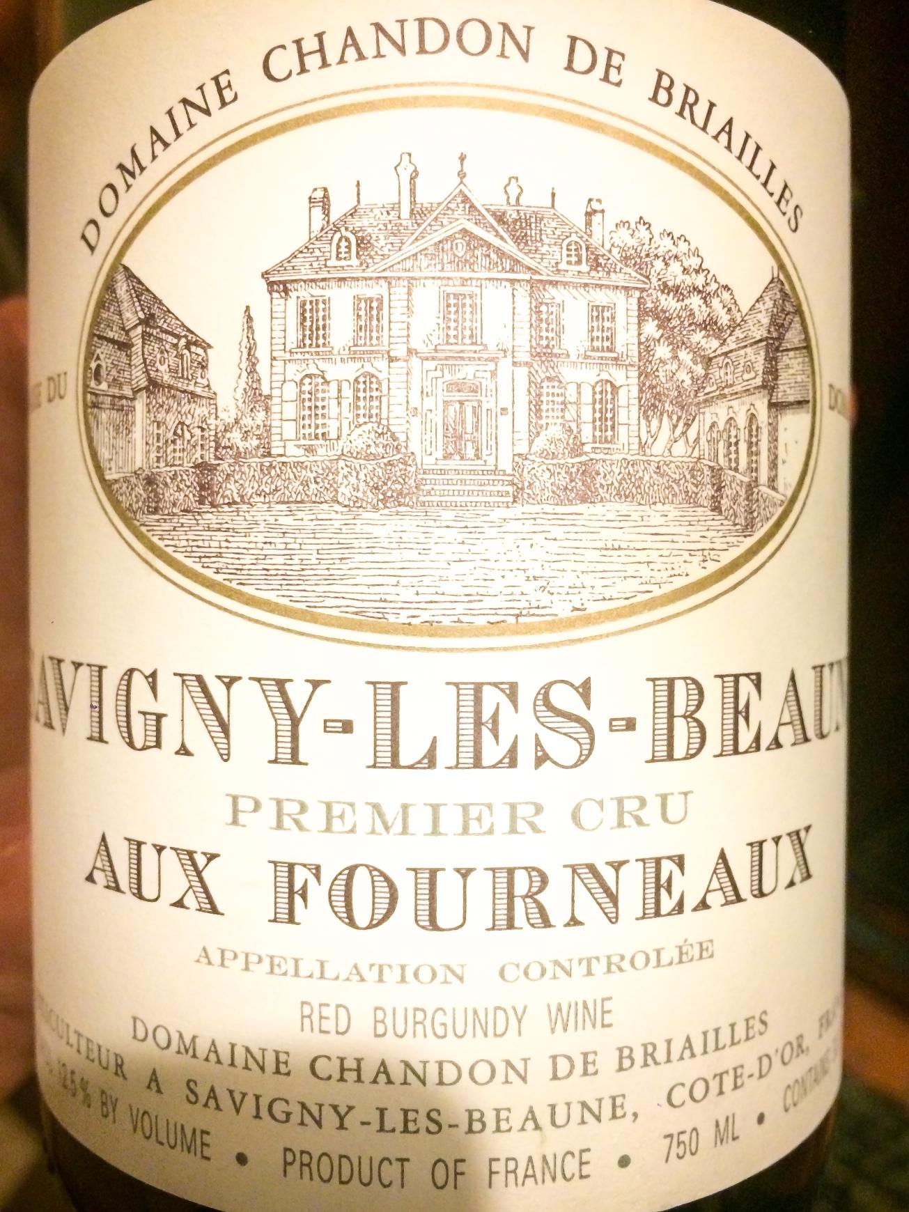 2005 Domaine Chandon de Briailles Savigny-lès-Beaune 1er Cru Les Fourneaux