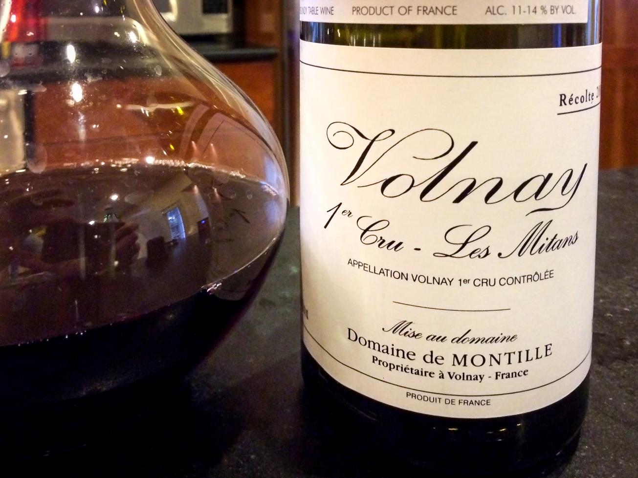 2003 Domaine de Montille Volnay 1er Cru Les Mitans